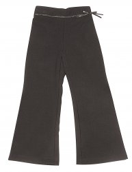 Girls Ribbon Bootleg Trousers