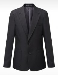 DAVID LUKE Boys Blazer Semi Fitted