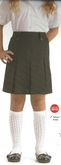 New Banner All Round Pleated Junior Skirt - Click Image to Close
