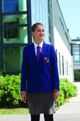 GLENROTHES HIGH SCHOOL GIRLS SEMI FITTED BLAZER