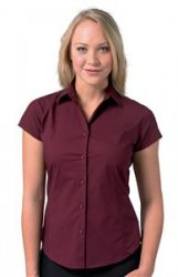 Short sleeve fitted Blouse