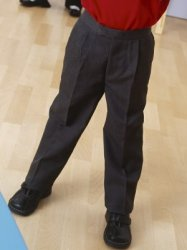 BANNER - TOP FORM -1/2 ELASTIC BOYS SCHOOL TROUSER