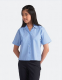 Banner Non Iron Short Sleeve Rever Collar Blouse (Twin Pack)