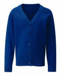 New! Girls Fitted Cardigan Cotton Mix