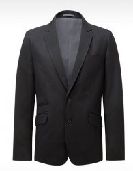 DAVID LUKE Boys WOOL Blazer Fitted