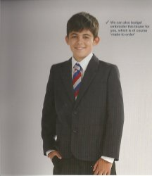 Beau Brummel Polyester Boys Blazer Junior Sizes